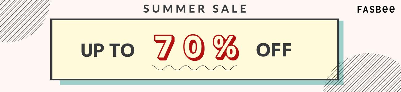 fasbee summer sale